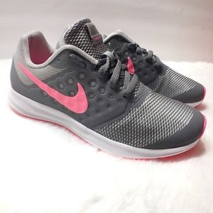 Nike Downshifter Grey Tennis Shoes